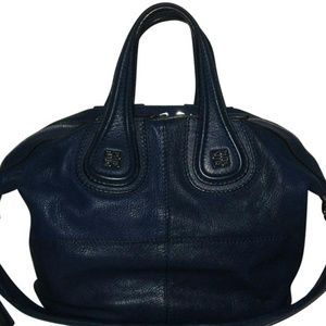 Givenchy Bags - Givenchy Nightingale Small Blue Goat Leather Tote d36124eca71a5